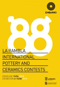 Rules for La Rambla International Pottery and Ceramics Contests 2018